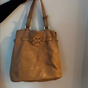 Tory Burch Tan bag with gold hardware
